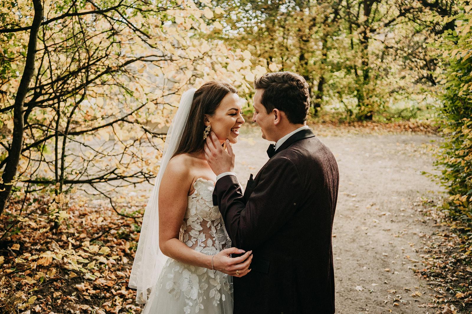 sesja ślubna w Nieborowie