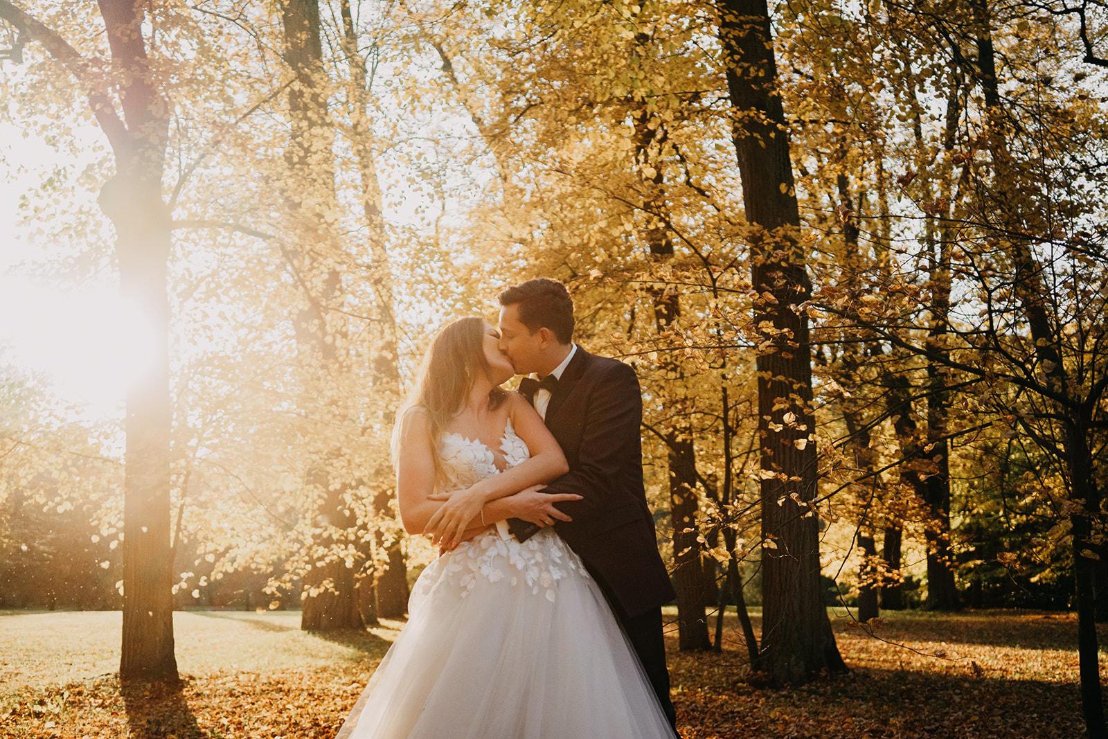Plener ślubny Pałac Nieborów - Ela i Jakub