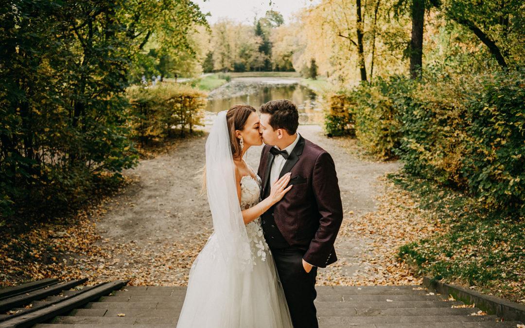 Plener ślubny Pałac Nieborów – Ela i Jakub