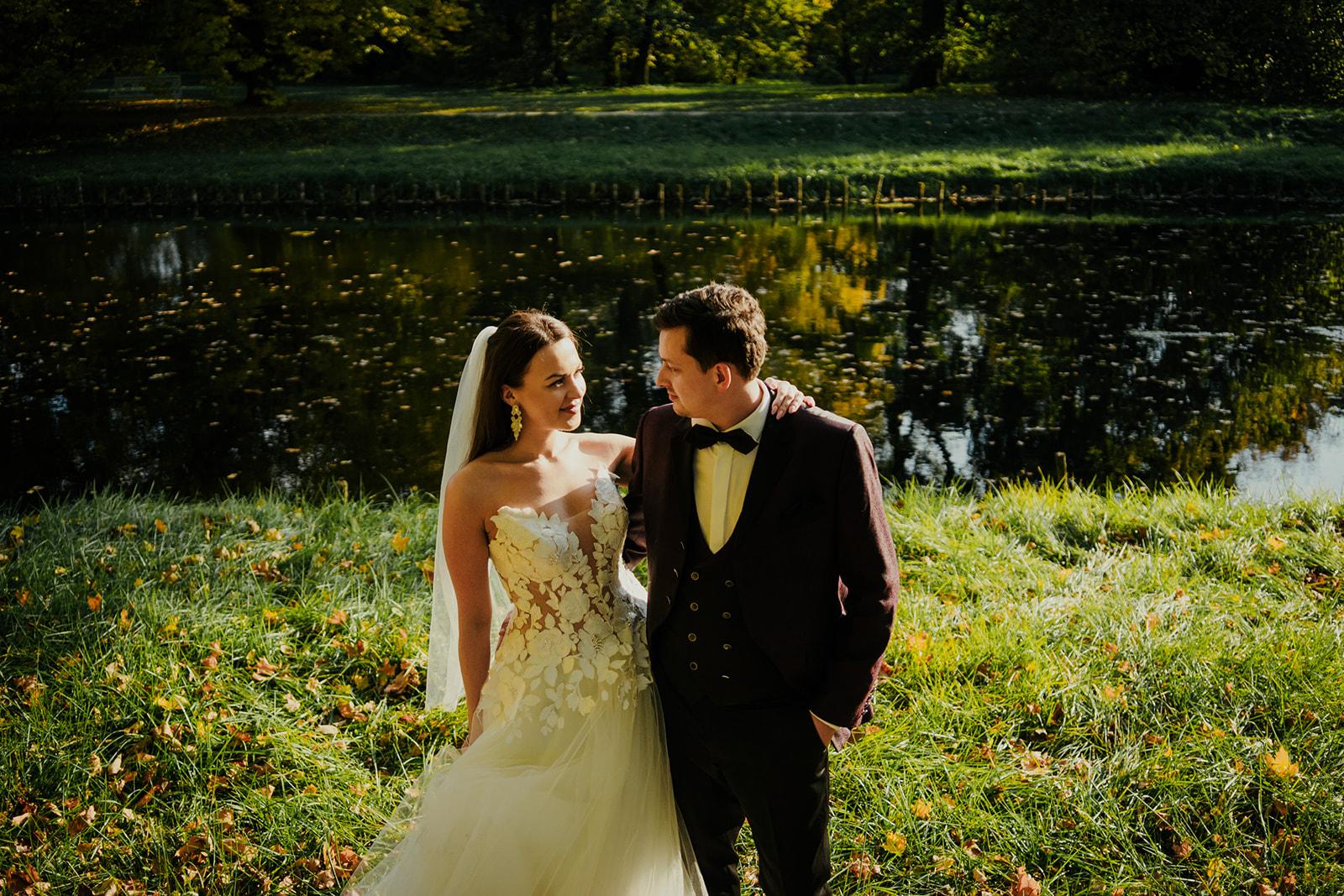 pałac w nieborowie zdjęcia ślubne