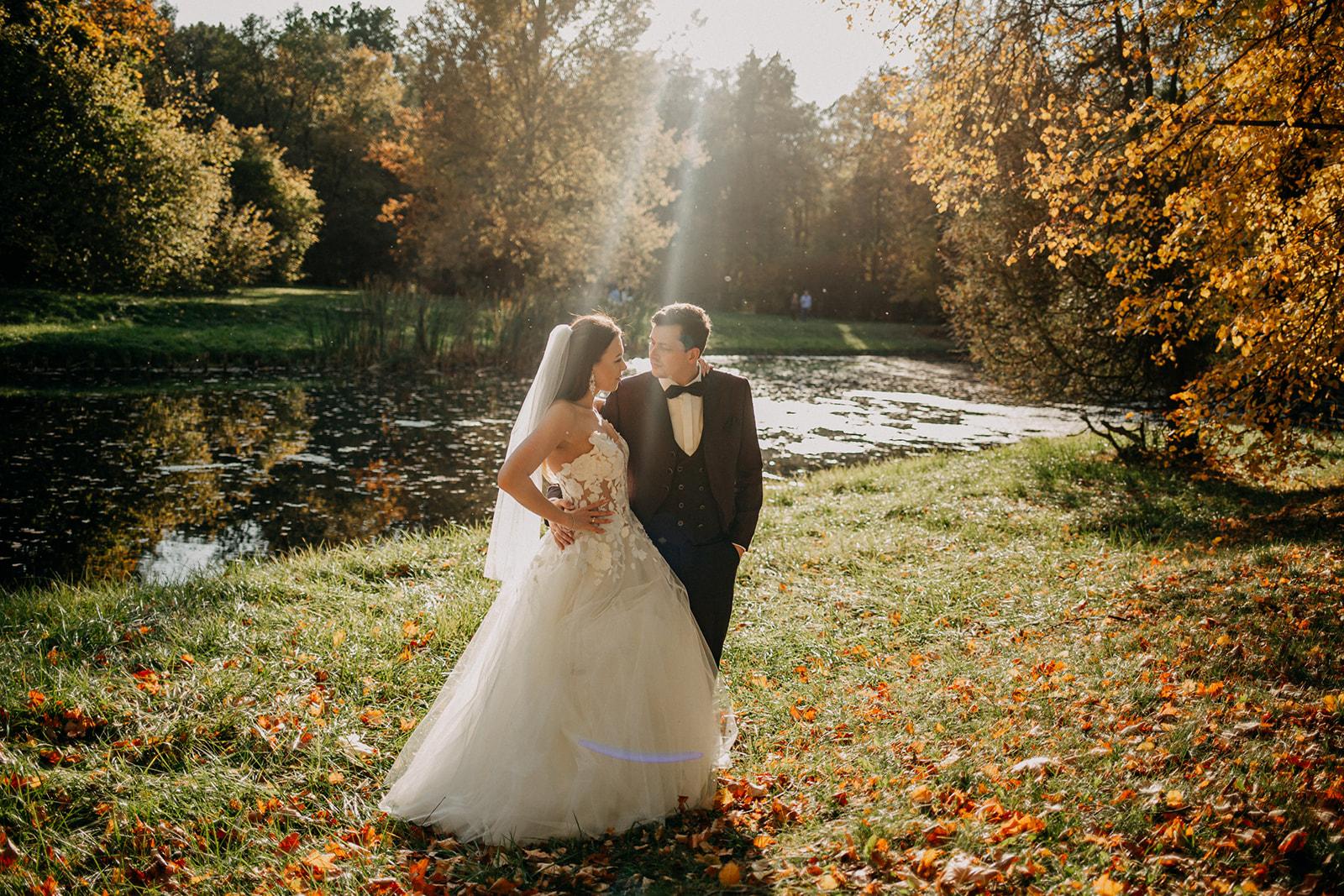 pałac nieborów zdjęcia ślubne