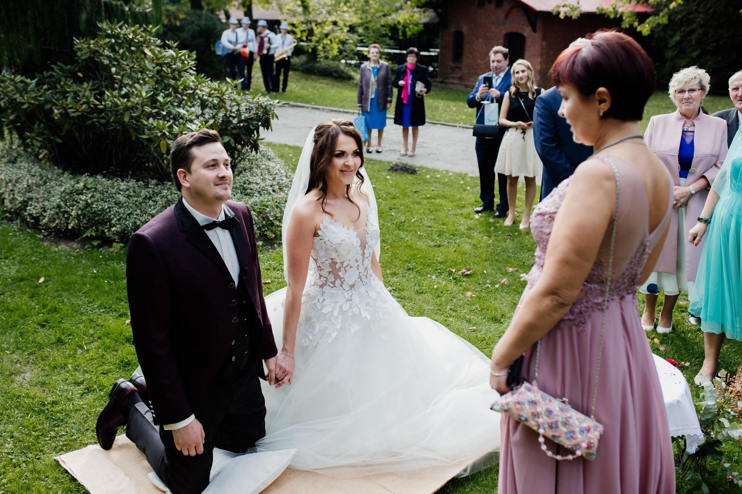 wesele w folwarku plener