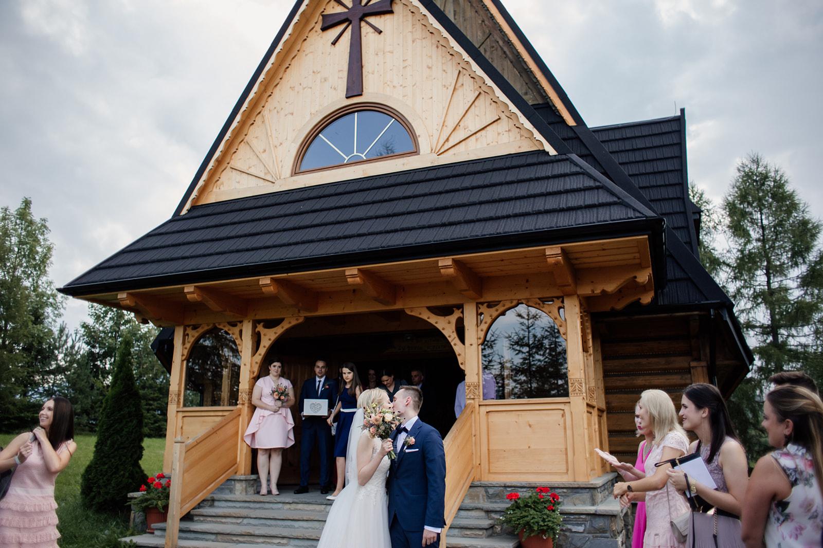 kościół osiedle furmanowa ślub