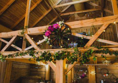 rustykalna stodoła w siedlcach
