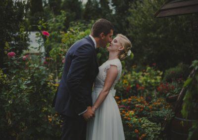 para młoda przed ślubem