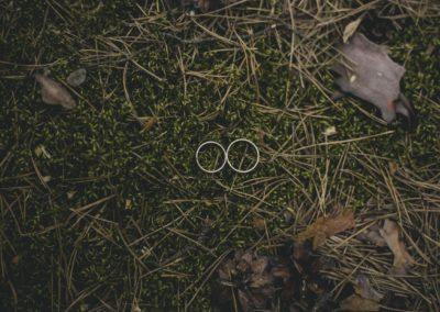 obrączki z sesji ślubnej alicja i patryk
