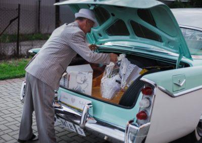 samochód zabytkowy na ślub