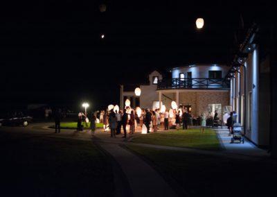 sesja ślubna dom weselny