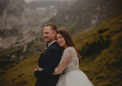 sesja ślubna w górach kasprowy