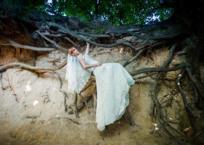 sesja ślubna korzenie