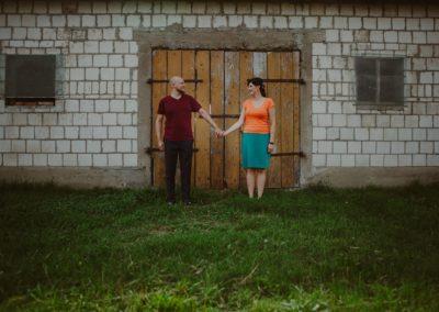 historia ślubna na wsi