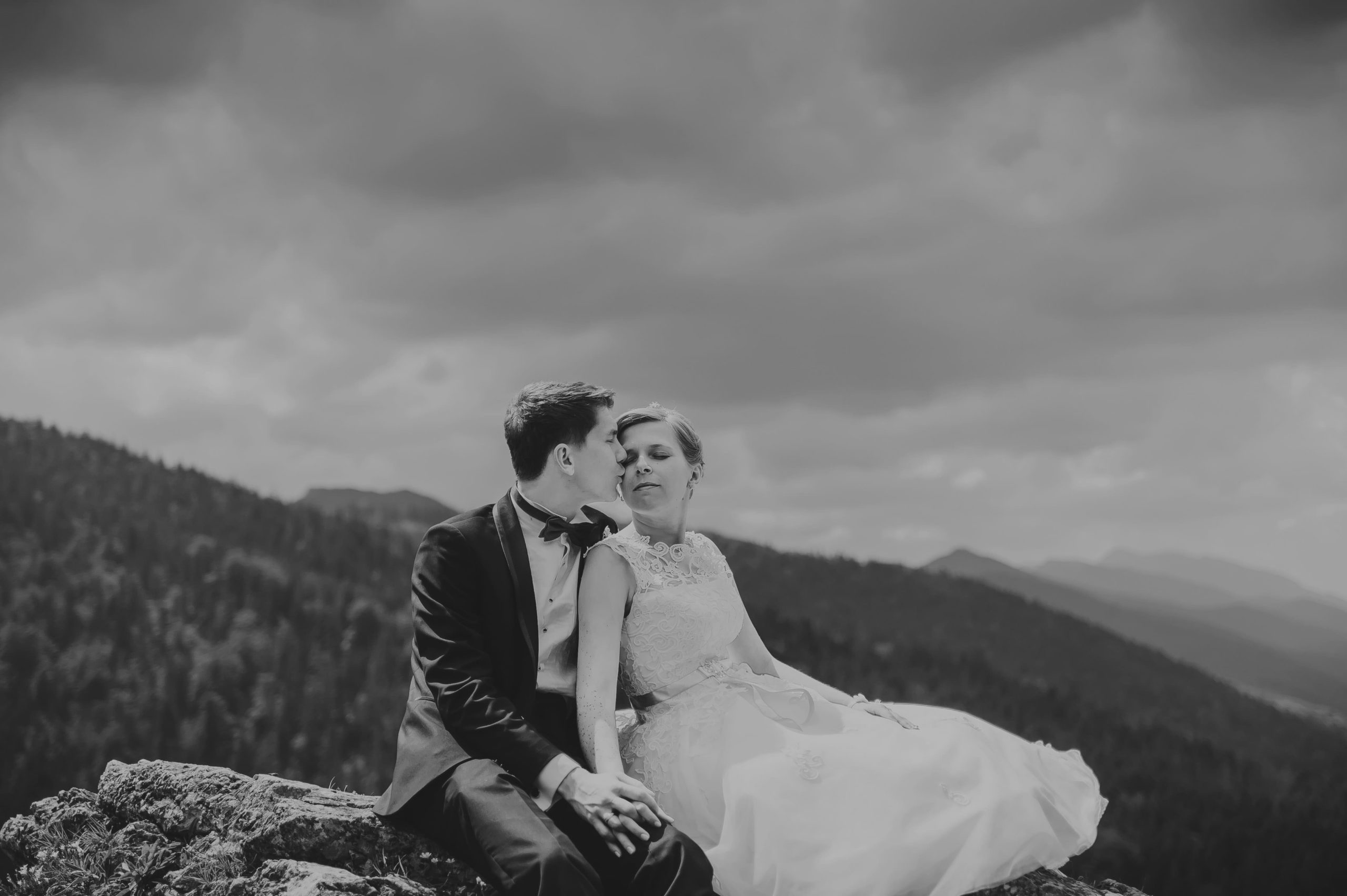 sesja ślubna na Nosalu