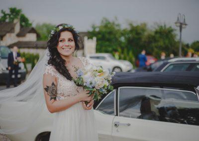 sesja ślubna panna młoda