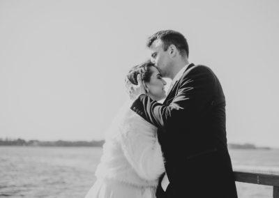 sesja ślubna pomost