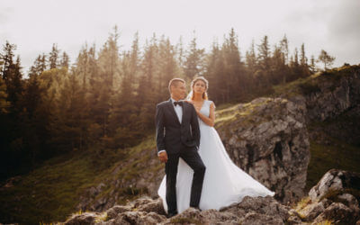 4 miejsca wyjątkowe miejsca w górach na sesję ślubną