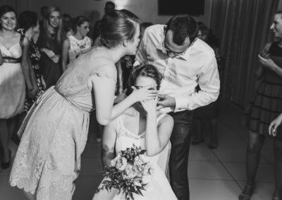 sesja ślubna na weselu warszawa