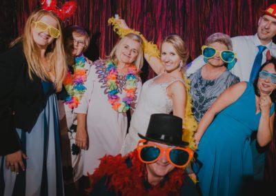 fotobudka na ślubie justyny i mateusza