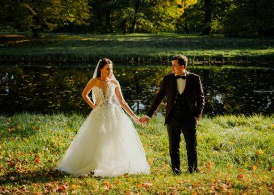 sesja ślubna nieborów