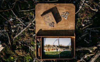 Drewniane pudełka na Wasze zdjęcia ślubne
