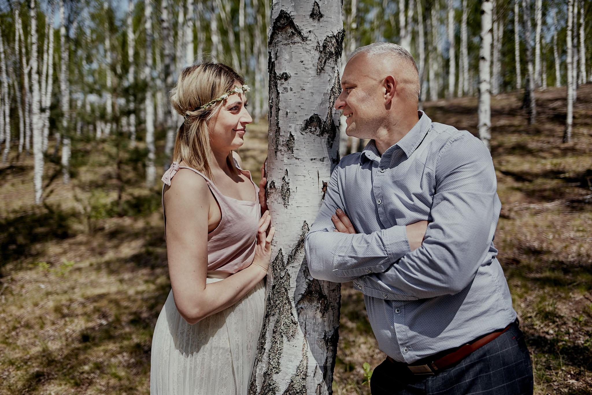 sesja zdjęciowa przed ślubem