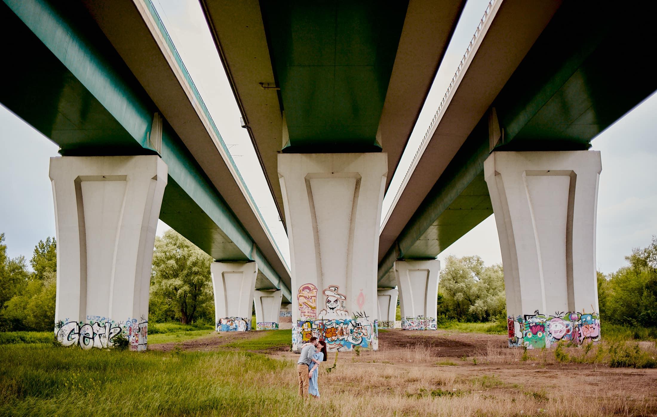 sesja zdjęciowa most północny