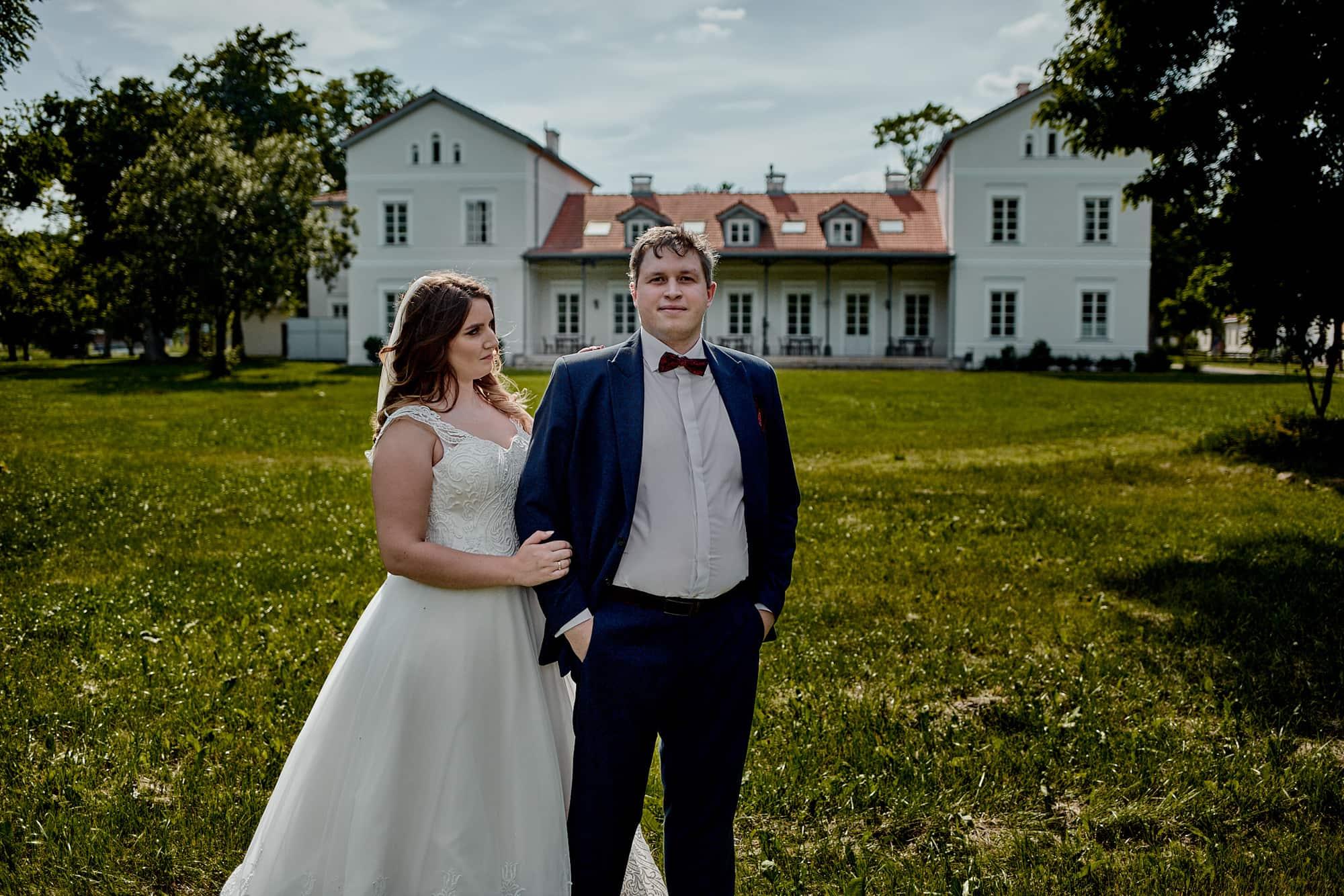 pałac w łochowie fotografia ślubna