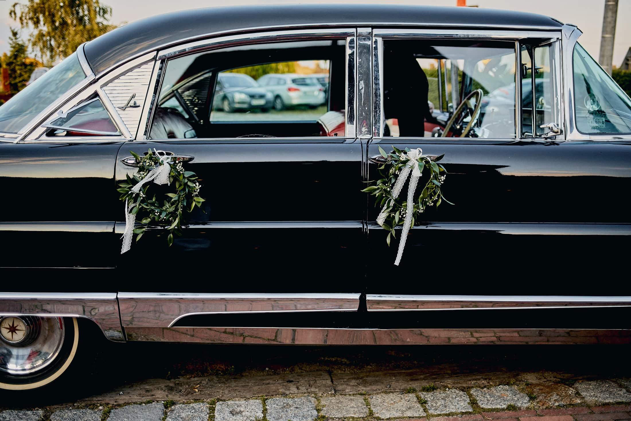 Lincoln auto do ślubu nowy dwór mazowiecki