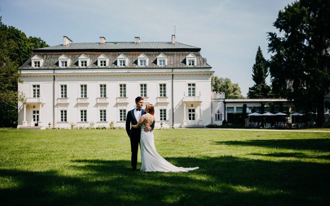 Plener ślubny Pałac Radziejowice