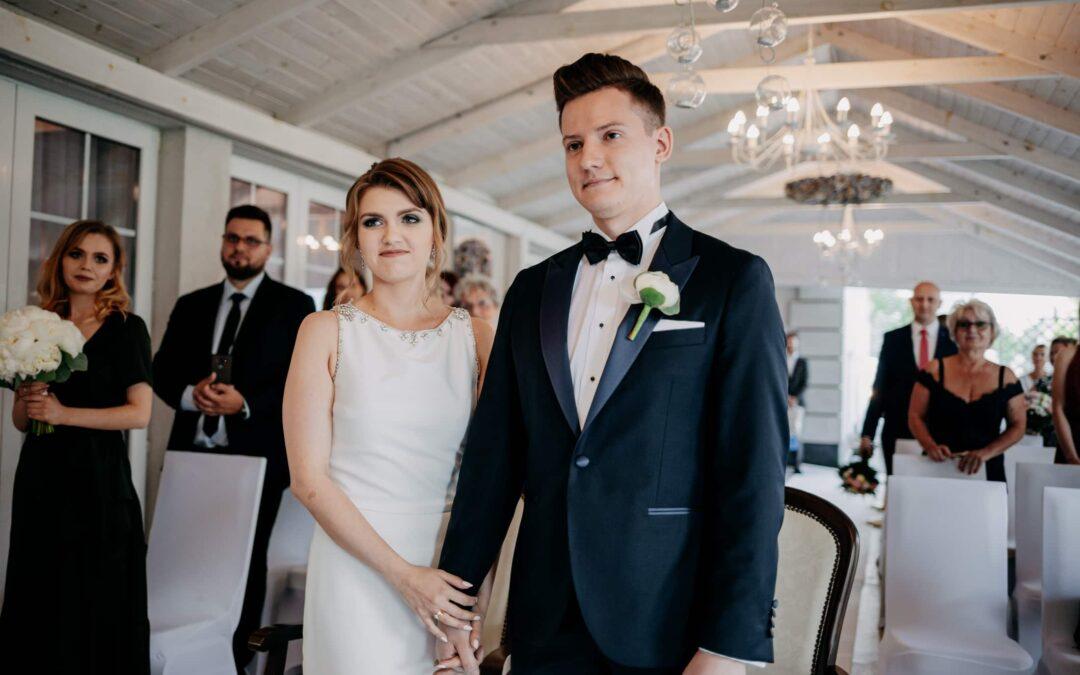Ślub w altanie Hotel Splendor Babice Nowe – Marta i Kevin