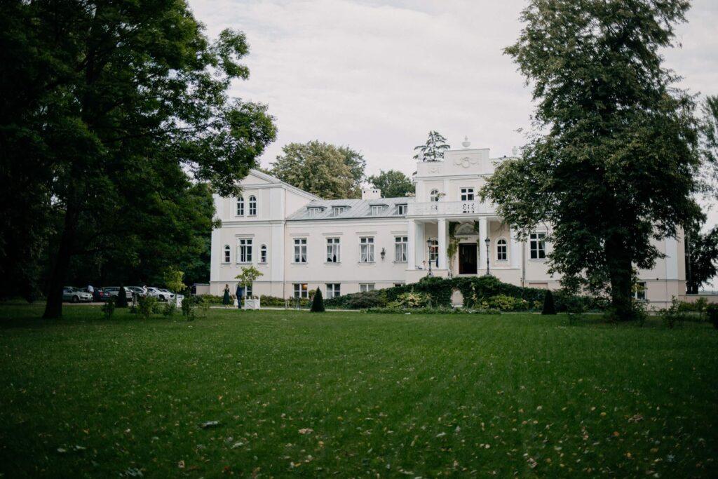 pałac zaborówek wesele