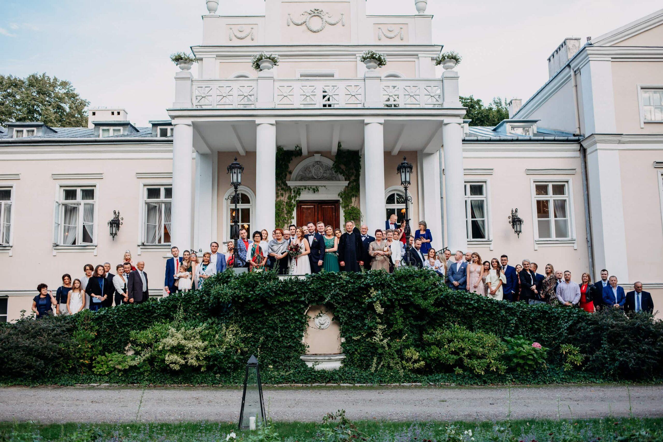 Pałac Zaborówek Wesele w Pałacu pod Warszawą