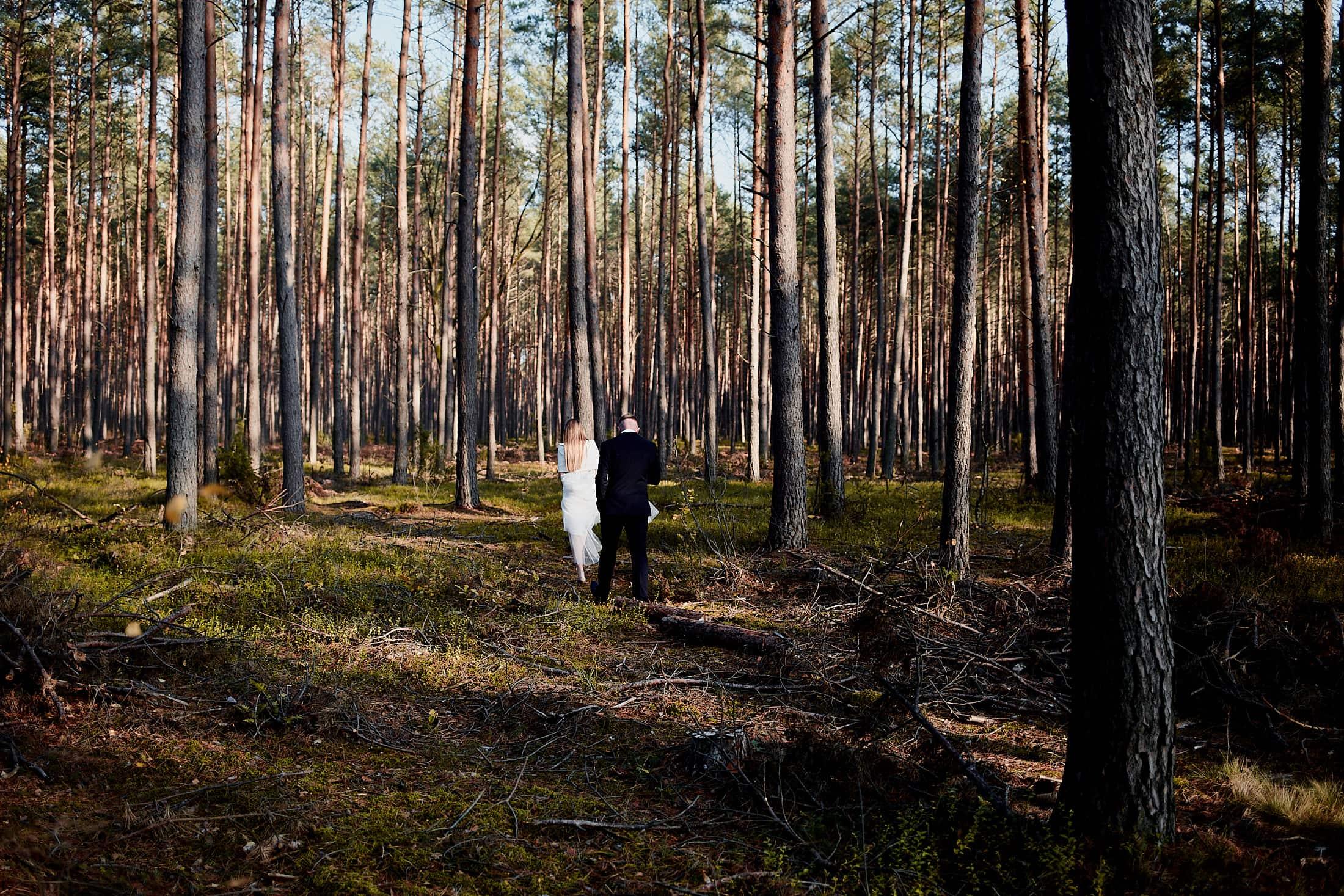 Siedlisko Malcanów sesja ślubna Justyna i Kuba