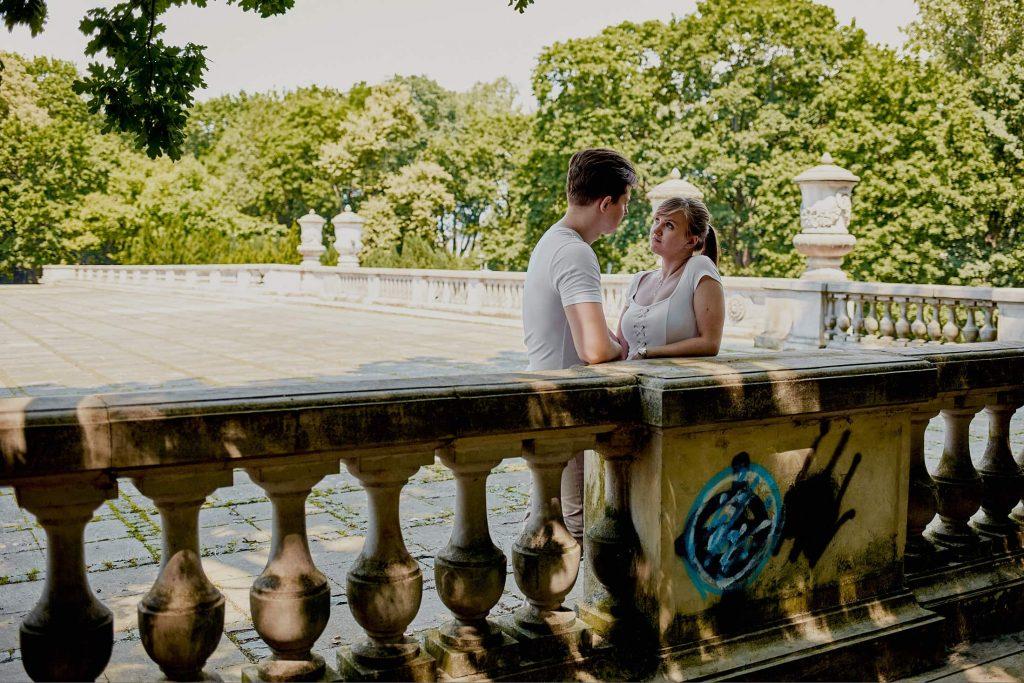 Sesja przed ślubem w Warszawie