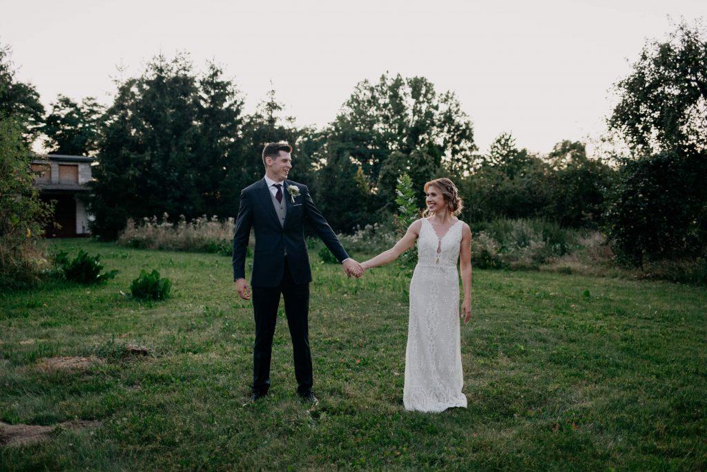 sesja ślubna dworek pamiętna