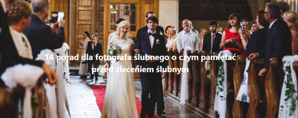 porady dla fotografów ślubnych