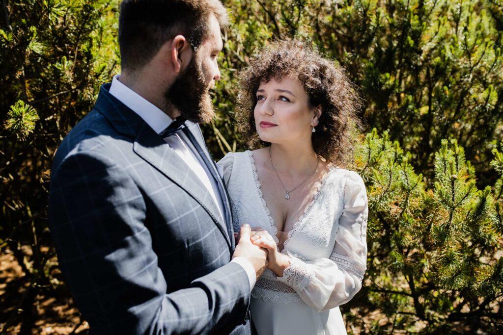 Sesja ślubna Ogród Botaniczny Powsin