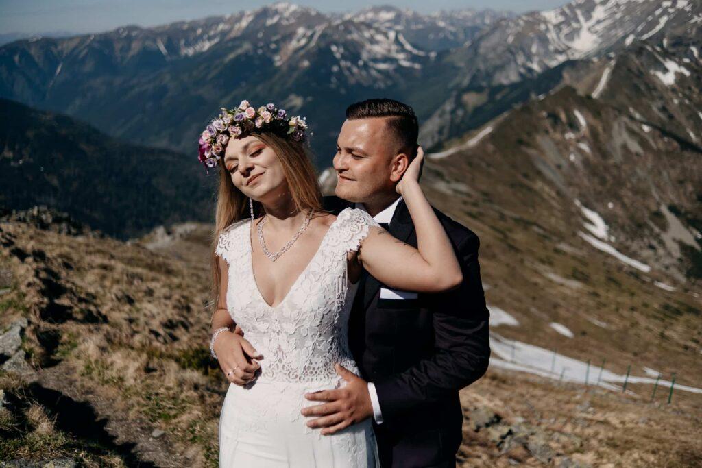 Sesja ślubna w górach - Kasprowy Wierch