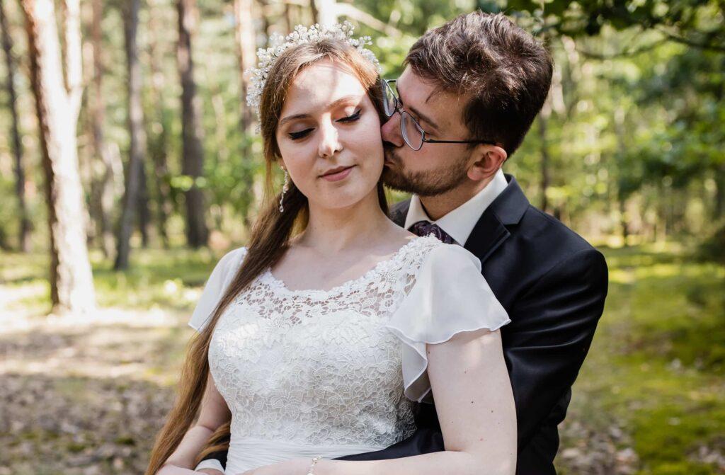 Letnia sesja ślubna w Otwocku