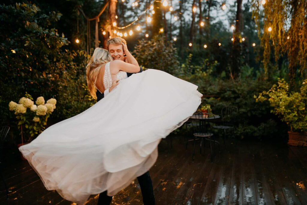 Stylizowana sesja ślubna w Cicha 23 Event Place