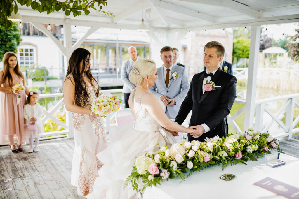 Ślub plenerowy Patio na Wodoktach