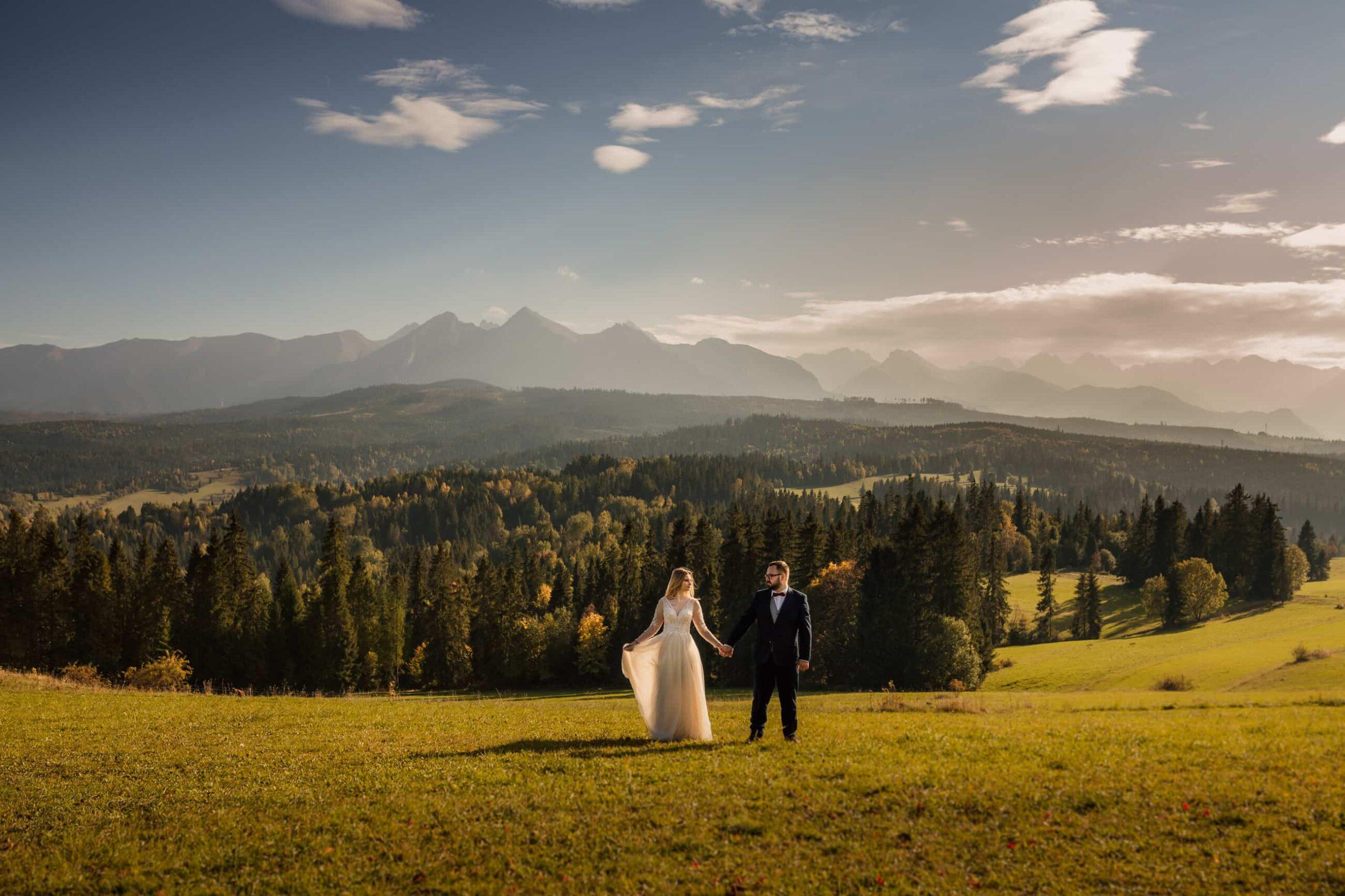 łapszanka sesja ślubna